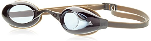 adidas Schwimbrille Persistar Schwimmbrille, Smoke Lenses/Graphite/Tech Grey Met, One Size