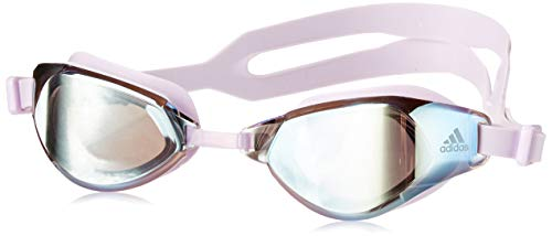 adidas Persistar Fit Unverspiegelte Schwimmbrille Tactile Gold Met. F17/Purple Tint/Purple Tint Small